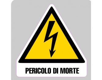 ADESIVI PERICOLO 97x97mm
