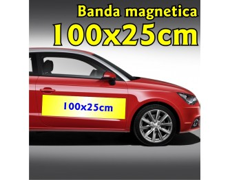 Banda Magnetica 100x25cm