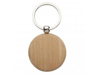 Portachiavi tondi in legno